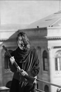THE LAST LEOPARD Maria Eugenia Lo Bue di Lemos Palazzo Lemos Palermo 1998 © Shobha Battaglia