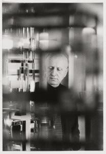 Portrait de Nicolas Schöffer. © Jean-Jacques Morer, 2018