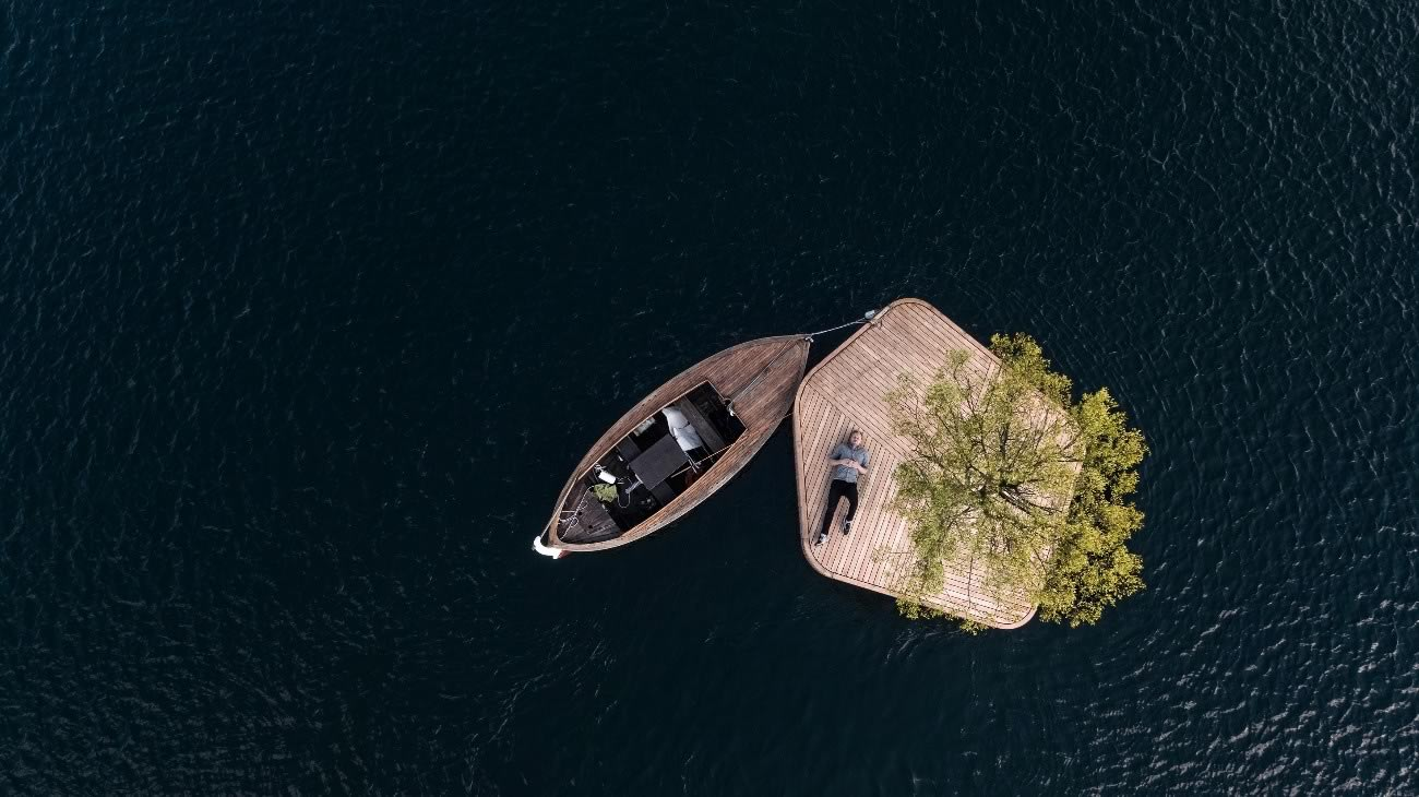 Floating Island © Marshall Blecher, Magnus Maarbjerg, Photo K. Airflix