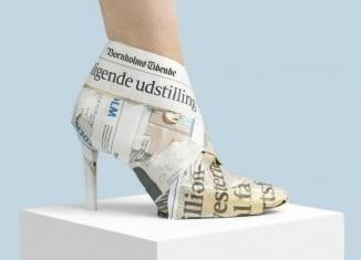 Nikolaj Beyer, Everyday shoes, The newspaper boot