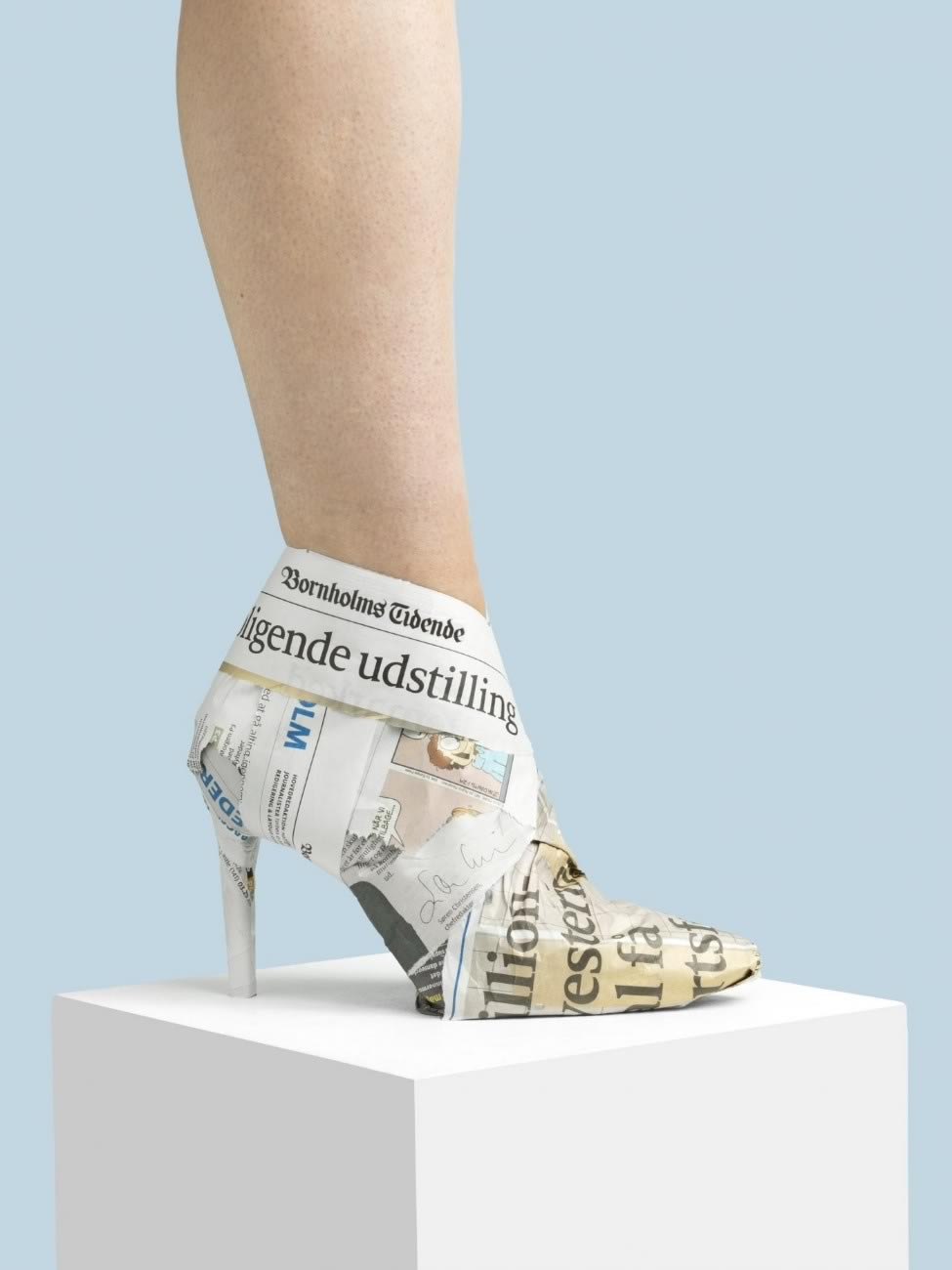 Nikolaj Beyer, Everyday shoes, The newspaper boot