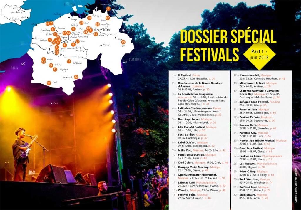 Dossier festivals, sommaire_LM Magazine, n°141