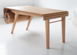Table Roll-Out © Marcus Odegaard Voraa