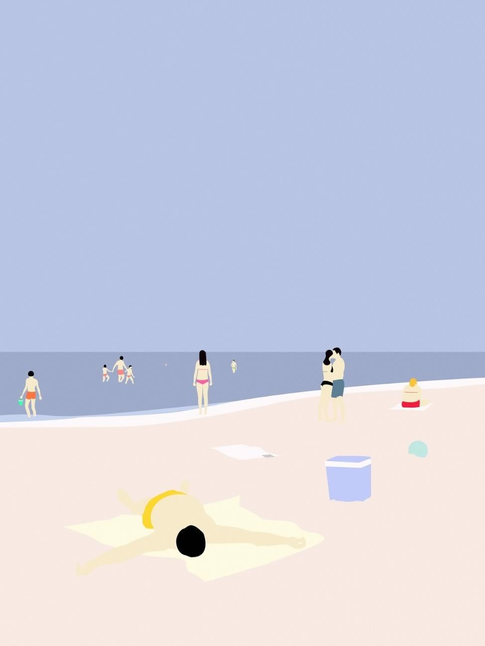 På Stranden © Swen Swensøn