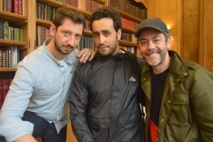 Monsieur Poulpe, Jonathan Cohen et Manu Payet © Angélique Passebosc