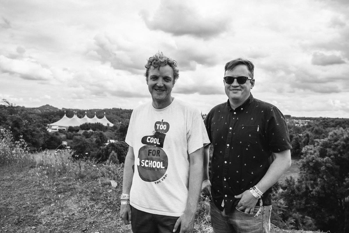 Mathieu Fonsny et Alex Stevens © N. Debacker