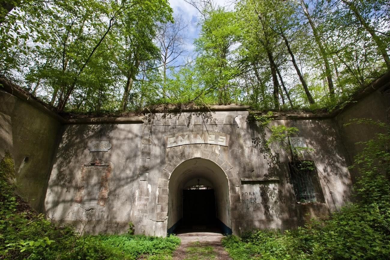 Entrée du Fort d'Emines © Frédéric Pauwels / coll. HUMA