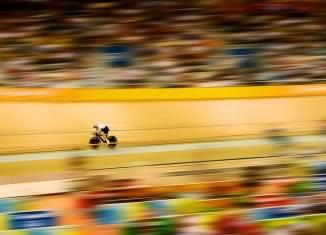 Beijing Cycling, Rebecca Romero, Jeux Olympiques de Beijing © Bob Martin