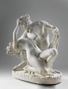 James Pradier, Satyre et bacchante © Musée du Louvre, Dist. RMN-GP - Hervé Lewandowski