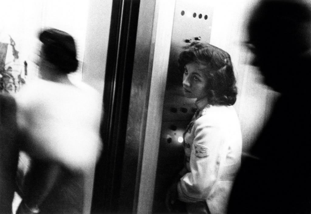 Elevator - Miami Beach, 1956, from The Americans