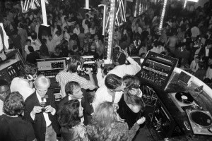 Calvin Klein Party at Studio 54, 1978. © Hasse Persson