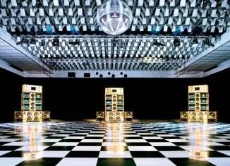 Despacio sound system, New Century Hall, Manchester International Festival, July 2013. © Rod Lewis