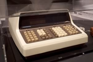 Hewlett-Packard, HP 9100A calculator, 1968 © Julien Damien