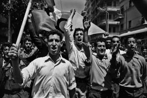 < Marc Riboud, Alger, 2 juillet 1962 © « Marc Riboud »