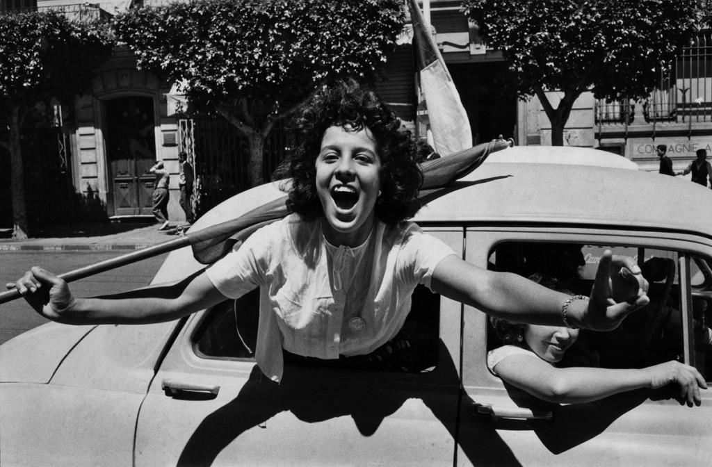 Marc Riboud, Alger, 2 juillet 1962 © Marc Riboud