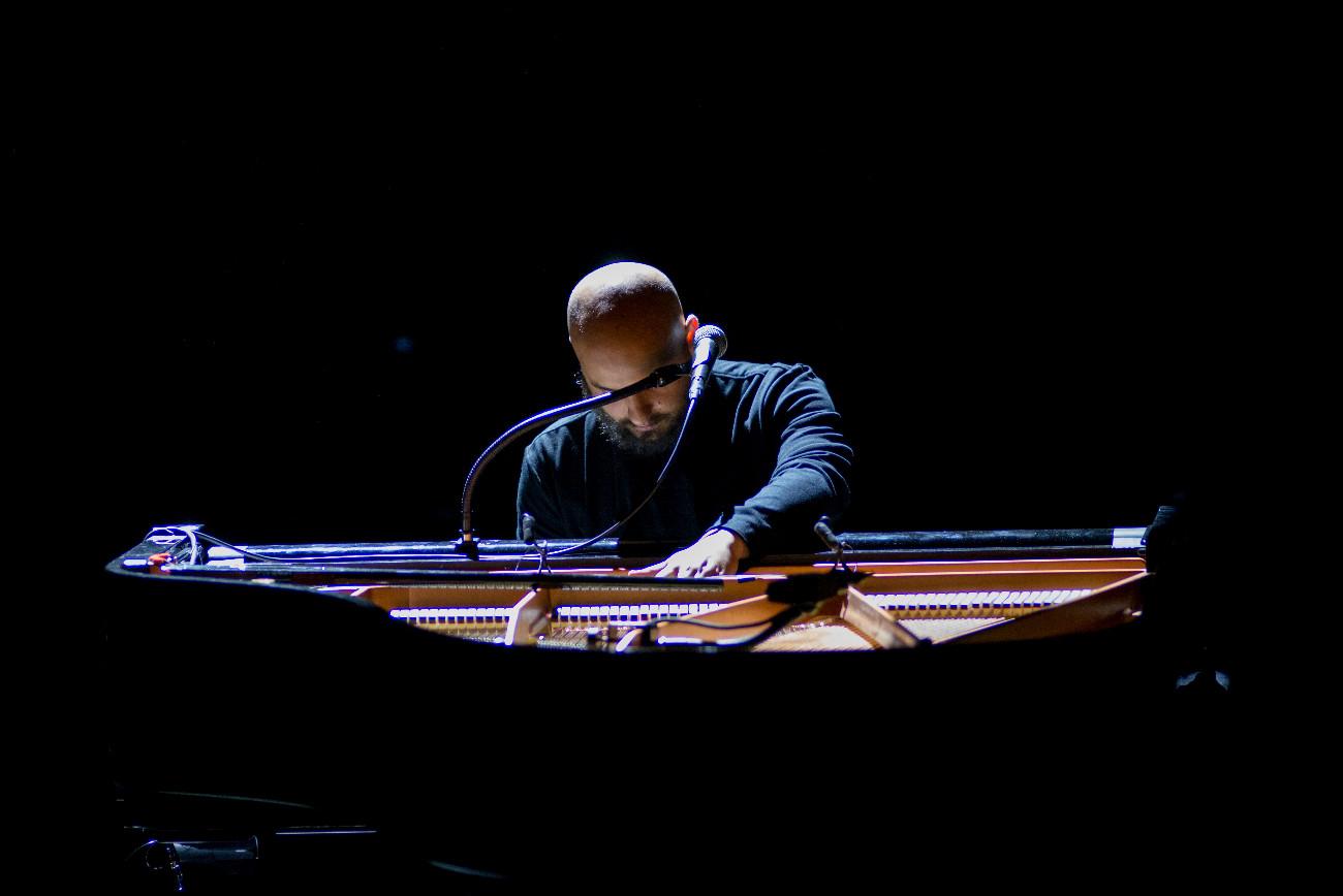 piano sur le fil