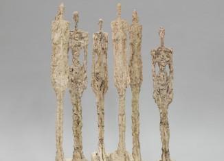 Alberto Giacometti, Les Femmes de Venise, 1956 Plâtre, H. entre 108 et 138 cm
