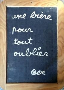 Ben, Une bière pour oublier les impôts, 1987, vue d'exposition © Photo Julien Damien