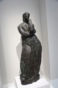 Vue d'exposition, Pénélope, Antoine Bourdelle, 1909, Bronze, Lille, Palais des Beaux-arts © Julien Damien