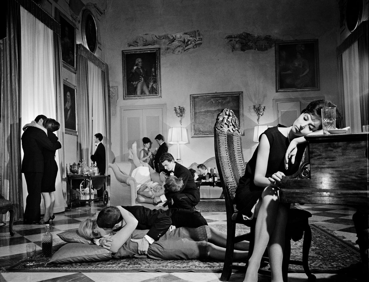 Photographie réalisée pour-le-roman-photo Il Giorno-dell'odio-(Le Jourde la haine)-publié dans Bolero-film,1962-1963