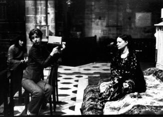 Anonyme, Carole Roussopoulos pendant le tournage de Les prostituées de Lyon parlent, 1975 © Fonds Carole Roussopoulos