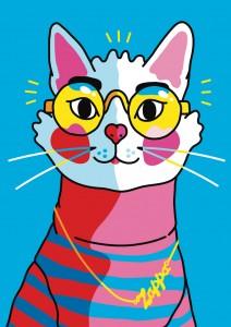 Portrait of Zappa the Cat- Xaviera Altena