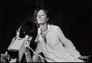 Anonyme, Tournage de Sois belle et tais-toi à Topanga Canyon, 1976. Archives Seyrig. © Duncan Youngerman