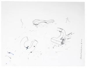 Pierre Marie Lejeune, Megastone, Bug et J-Peg, 2013 © Daphné Lejeune