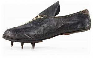 Gebruder Dassler Schuhfabrik 'rennschuh' 1925, sprint shoe © Adidas