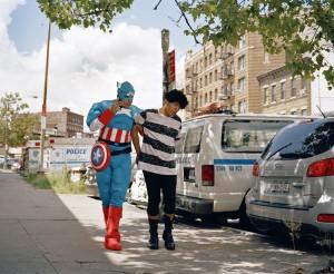 Captain America © Ducle Pinzón, Courtesy of Patricia Conde Galería Mexico