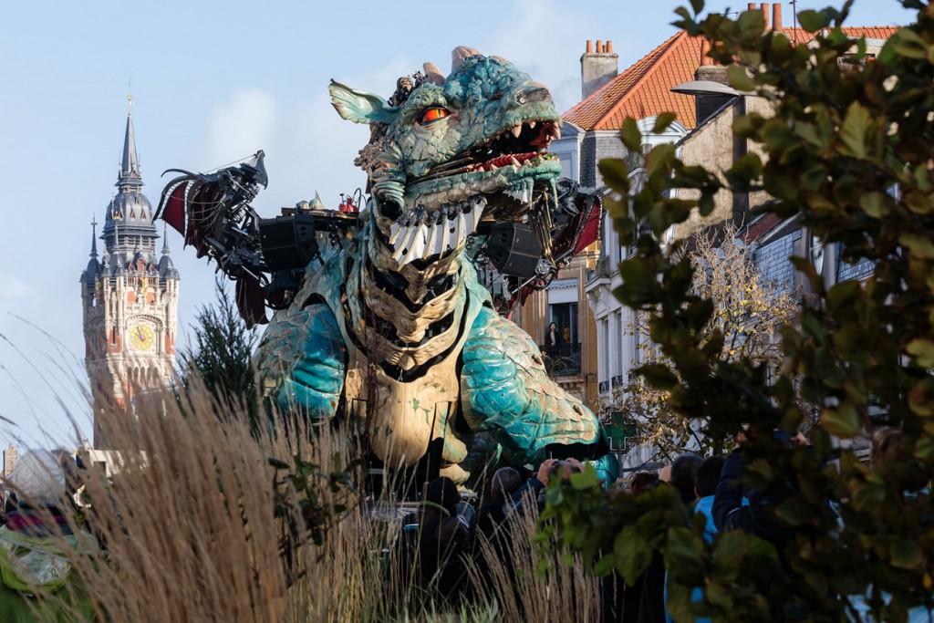 Dragon de Calais © Fred Collier / Ville de Calais, 2019