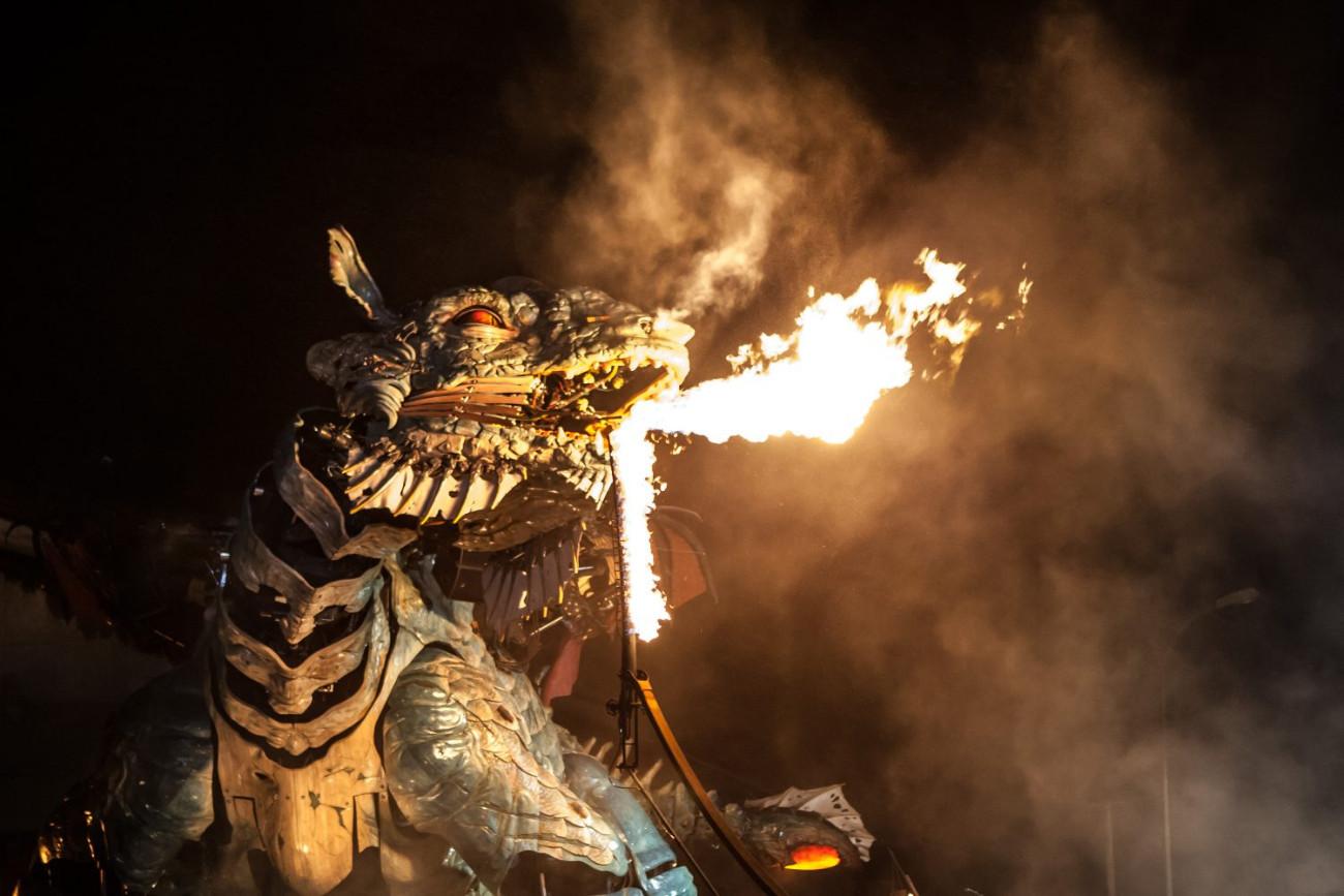 Dragon de Calais © Angelique Lyleire