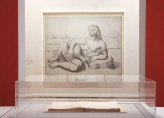 Vue d'exposition (Pablo Picasso, La Source, été 1921) © Photo Julien Damien