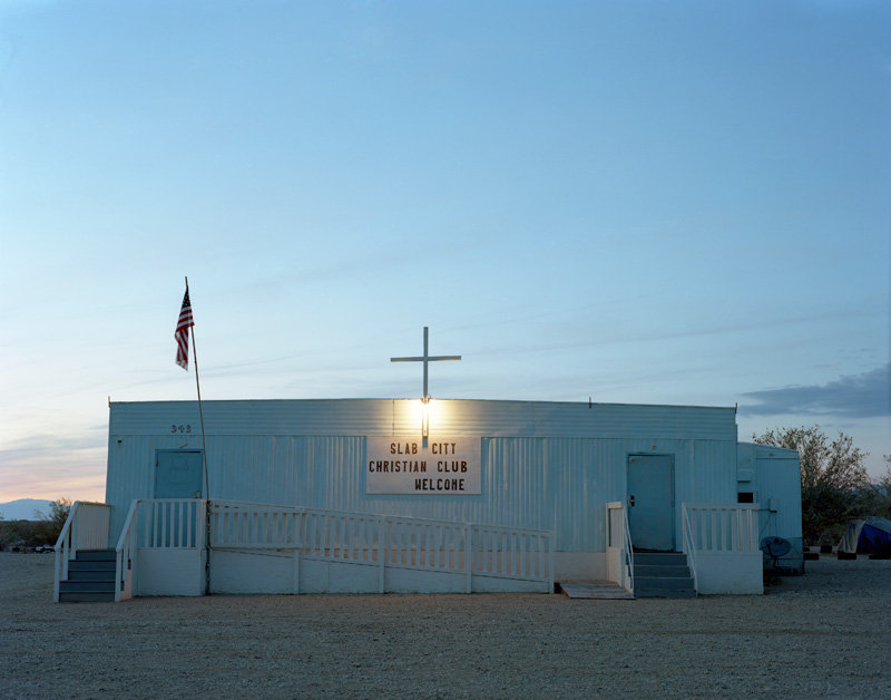 Laura Henno, Church, Slab city (USA), 2017