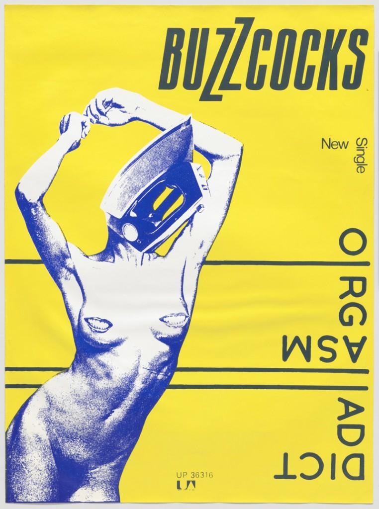 Buzzcocks, Orgasm Addict, 1977 © Linder [Linda Sterling], Malcolm Garrett / DR