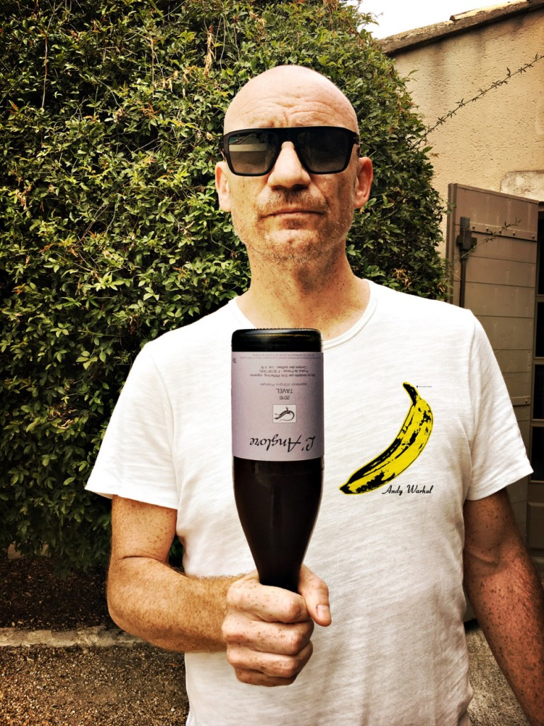 Gaëtan Roussel - The Velvet Underground & Nico x Tavel, Domaine de l'Anglore © Clarisse Fieurgant