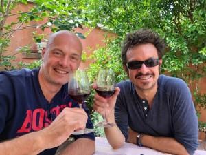 Christophe Mariat et Fabien Korbendau © DR