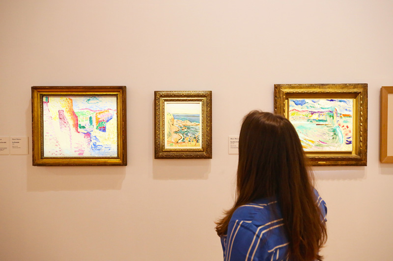 Vue d'expo (lampla) © Musée Matisse
