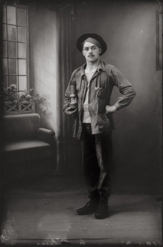Portrait de mineur, Kasimir Zgorecki, 1927 1994 (Tirage moderne), H. 50 cm ; L. 40 cm CRP/ Centre régional de la photographie Hauts-de-France © adagp / CRP Hauts-de-France