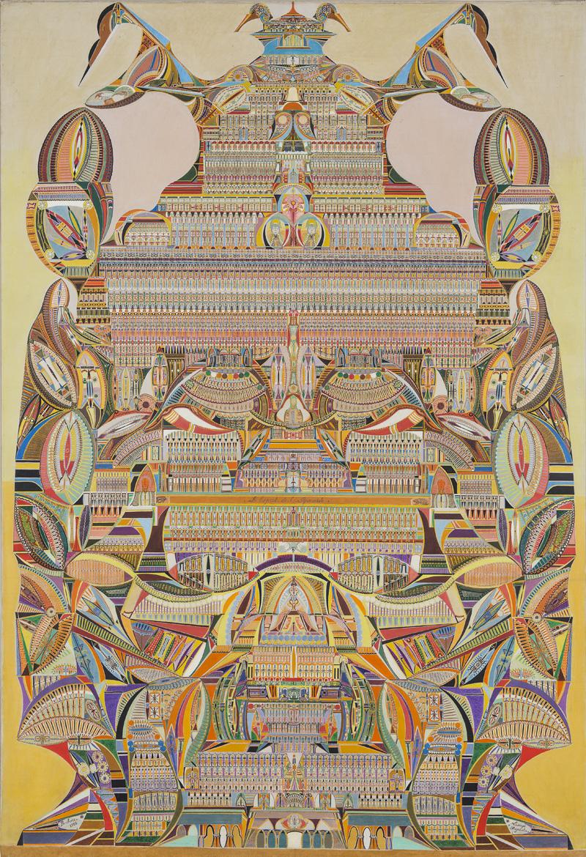 Augustin Lesage, L'esprit de la pyramide, 1926 LaM, Villeneuve d'Ascq. © Adagp, Paris, 2019 Photo : N. Dewitte / LaM