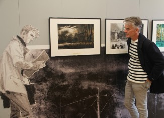 Vue d'exposition, Emmanuel Lepage, l'explorateur © Daniel Fouss / Musée de la BD