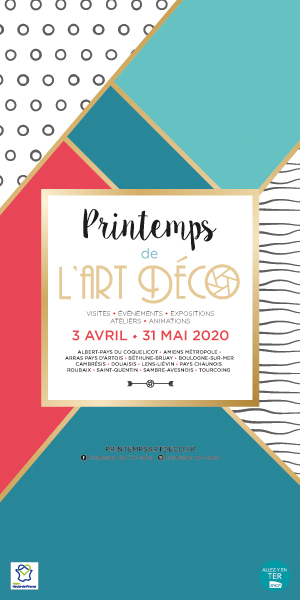 Printemps Art deco