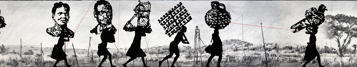 The Head and The Load / Photo : Thys Dullaart / William Kentridge