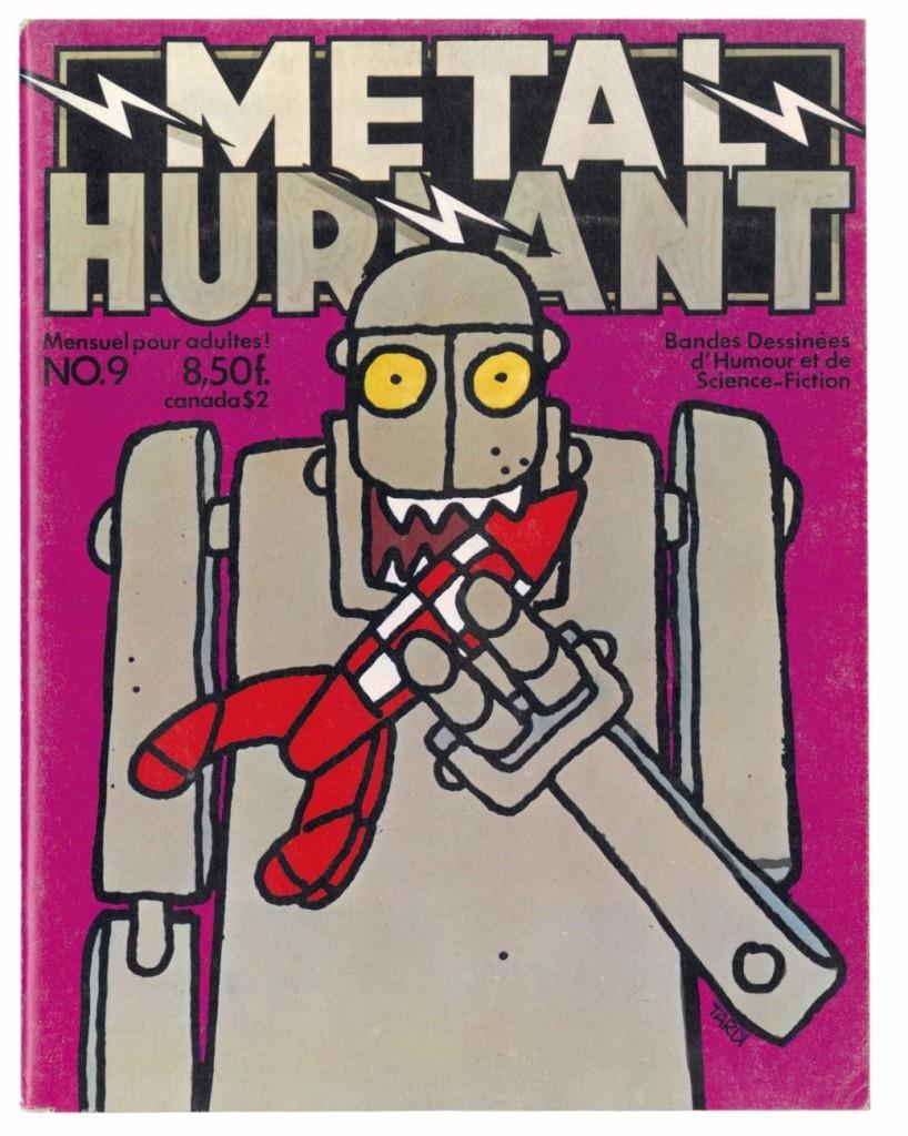 Métal Hurlant n° 9