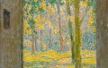 Henri Le Sidaner, Porte ouverte sur le verger, 1924 © Musée du Touquet-Paris-Plage / Bruno Jagerschmidt