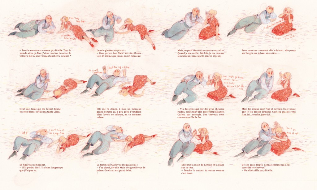 Illustrations © Rébecca Dautremer éd. Tishina
