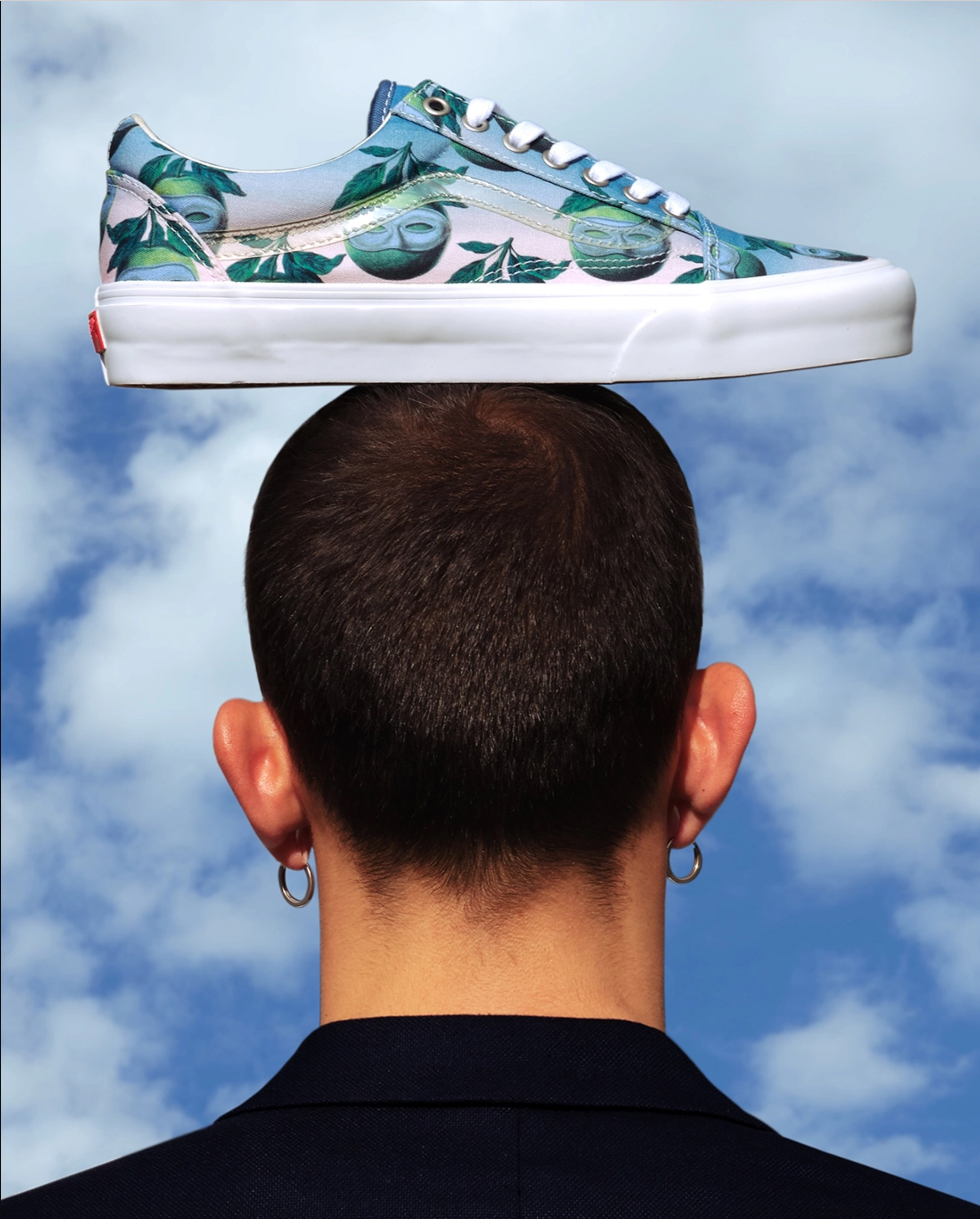 The Magritte Foundation x Vans