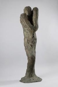 Vierge à l'enfant, 1971 Bronze à la cire perdue H. 161 ; L. 40 ; P. 23 cm Collection particulière Photo : A. Leprince – Ville de Roubaix