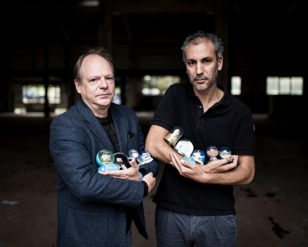 Patrick Boucheron et Mohamed El Khatib © Yohanne Lamoulere / Tendance floue