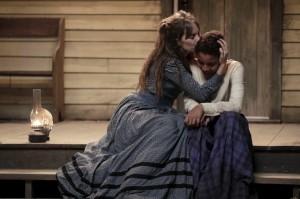 (L-R): Maya Hawke as Annie Brown and Joshua Caleb Johnson as Onion